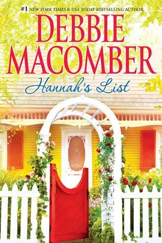 books by debbie macomber | Redlady's Reading Room: Book Review~Hannah's List by Debbie Macomber