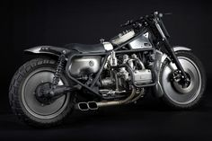 Honda Goldwing Bobber by H Garage #motorcycles #bobber #motos | caferacerpasion.com