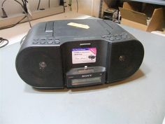 Sony ZS-S3iPN CD/CD-R/RW Boombox with AM/FM Radio for iPhone 5 #Sony