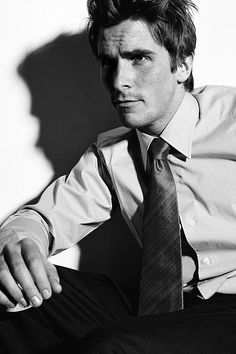CHRISTIAN BALE.  The new generation of brooding actor.
