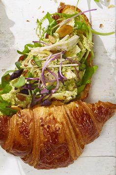 Pesto Chicken Salad Croissantsgoodhousemag