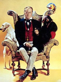 Dr. Doolittle was one of my favorite movies growing up and I still watch it whenever I can. I love love love Rex Harrison.