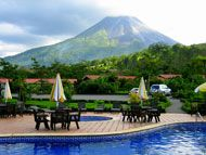 List of hotels near Arenal Volcano