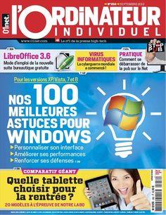 Telecharger L'Ordinateur Individuel 252 de Septembre 2012