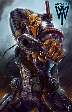 superheroes-or-whatever:  Deathstroke by wizyakuza