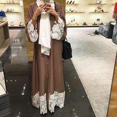 hijab fashion, Dubai, and abaya image Mehr Hijab Fashion 2016, Arab Fashion, Islamic Fashion, Muslim Fashion, Modest Fashion, Dubai Fashion, Abaya Designs, Abaya Style, Modest Wear