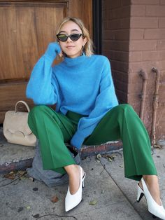 Primary Colors For Fall By Unconscious Style Look Fashion, Autumn Fashion, Fashion Outfits, Fashion 101, Japan Fashion, Street Fashion, Trendy Fashion, Colourful Outfits, Colorful Fashion