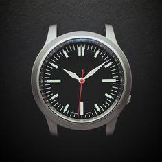 E3 Seiko Retro Mod 38mm AR Sapphire Automatic Watch: Flight