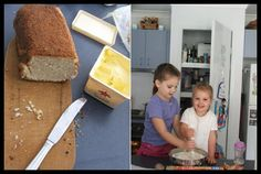 Coconut Bread 4 Ingredients