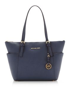 MICHAEL Michael Kors Jet Set Top-Zip Saffiano Tote.  I bought this purse and it's beautiful, roomy and a great size!