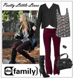 "Ashley Benson aka ""Hanna Marin"" - PLL (Layered Outfit)"