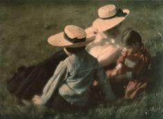 LA IMAGEN DEL SIGLO.: Los comienzos del color. Heinrich Kühn / ANTONIN PERSONNAZ