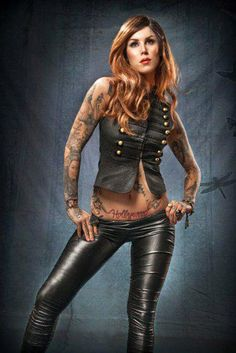 Tattoo Model - Kat Von D