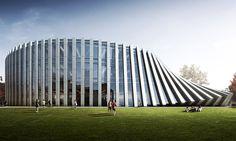 BIG rozšíří americkou školu ISOM padající přístavbou