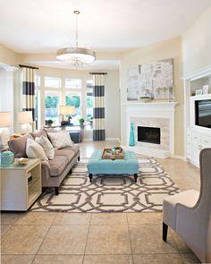 Living Room - Amanda Carol Interiors