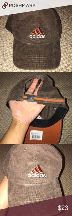 Adidas adjustable hat Adidas adjustable hat; soft brown hat. Adjustable. Never worn NWT no trades adidas Accessories Hats