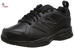New Balance WX624AB4, Multi-sports - Intérieur femme - Noir (Black) - 39 EU - Chaussures new balance (*Partner-Link)