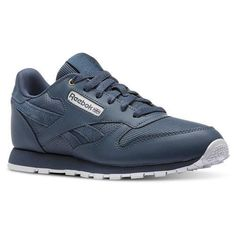ac2e37ab4c4 Reebok Unisex Classic Leather - Grade School in Mc-Deep Sea   Mt Fuji    White Size 6 - Retro Running
