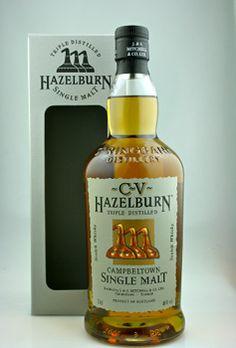 Hazelburn Single Malt Scotch Whisky. #Scotch #Whisky