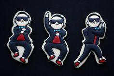 Gangnam Style Cookies