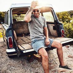 Spring is here. New work with @stagprovisions @brandonmike @jen_bigham @donrweir #stag #springfashion #mensfashion #vans #jeep #tx #lake @vans #wagoneer @jeep #lifestyle