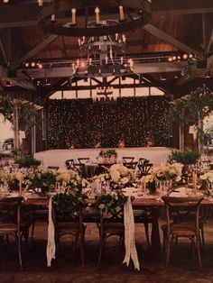 Gorgeous natural greenery and classic white!