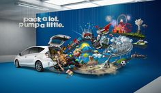 Serial Cut™ - for Prius V and Saatchi & Saatchi