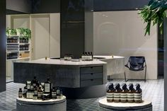 Taxonomy of Design: An Archive of Aesop Spaces.