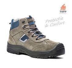 Bocanci de protectie piele, respirabili PRO Cobalt, Hiking Boots, Shoes, Fashion, Moda, Zapatos, Shoes Outlet, Fashion Styles, Shoe