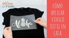 cómo aplicar vinilo textil en casa paso a paso  #vinilo #vinyl  #textiledesign Vinil Cricut, Recycle Old Clothes, Two Piece Outfit, Textile Design, Silhouette Cameo, Graphic Sweatshirt, Sweatshirts, Ideas, Liliana