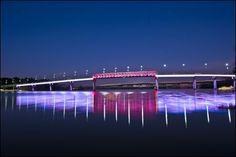 two rivers bridge, little rock, arkansas