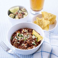 Black-Eyed Bean and Beef Chilli