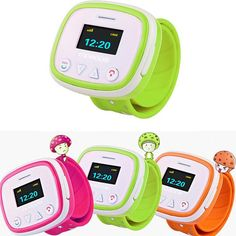 New Children Smart Watch with remote monitoring GPS