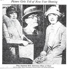 On New Year's Day, 1924, Mabel Normand and friend Edna Purviance were enjoying afternoon cocktails with oilman Courtland S. Dines. For reasons unclear, when Normand's chauffeur Horace Greer came to pick her up that evening, he became convinced that she was in distress or that the women were being held against their will, and shot Dines three times — with Normand's pistol. Dines survived the incident, but Normand's career didn't; she retired from films and died in 1930, only 37 years old.