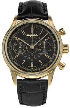 Alpina 130 Startimer Pilot 41.5 mm Mens Watch