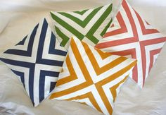 Great pillow design - we can pick the colours depending on what you decide