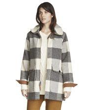 Women's Giant Buffalo Wool Coat