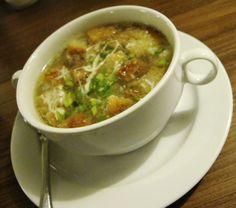 Heavenly garlic soup