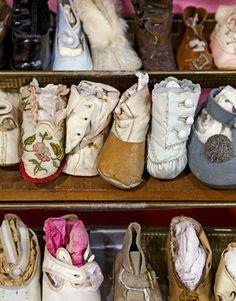 Vintage doll Footwear