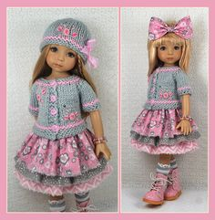 OOAK gray and pink from maggie_kate_crreate on ebay ends 7/29/14. SOLD for $202.50.