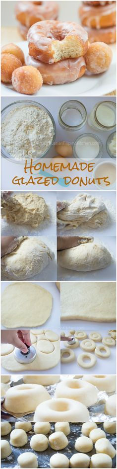 Easy step-by-step recipe with photos for making soft and fluffy yeast donuts. You don't need a mixer for this one.