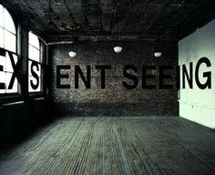 Memory of a non-existent seeing, PS1, New-York, USA  1977  Acrylique sur murs   © Galerie Dominique Fiat
