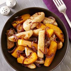 The family loved this Roasted Turnips & Butternut Squash with Five-Spice Glaze Recipe when I made it over the holidays! Butternut squash never tasted so good...