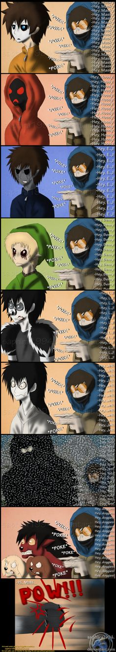 Adventures With Jeff The Killer - PAGE 62 by Sapphiresenthiss on deviantART