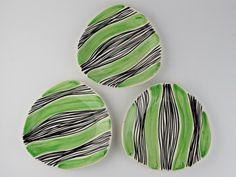 Talerzyki Włocławek Picasso, NEW LOOK - 6942476653 - oficjalne archiwum Allegro Ceramic Design, Mid Century Design, Vintage Ceramic, Picasso, Glass Art, Art Deco, Polish, Textiles, Pottery