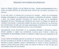 RESEÑA BIOGRÁFICA DE BRIANNA MATHURINE BEAUPERTHUY, PARA CUEROS EN ROSA.