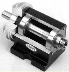 robust lathe | Sectional view of the small but robust Sherline headstock and spindle ...