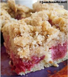 Really Rhubarb Coffee Cake Recipe