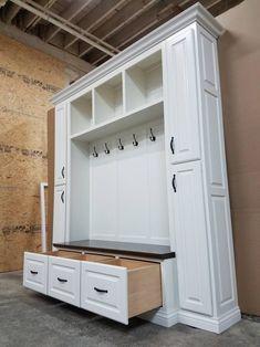 THE PHILADELPHIA Mudroom Lockers Bench Storage Furniture | Etsy