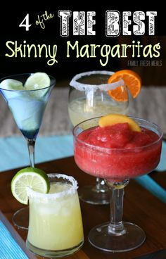 The Best Skinny Margarita Recipes | Family Fresh Meals